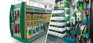 Allestimenti di negozi di ferramenta rivendite edili for Arreda negozi shop